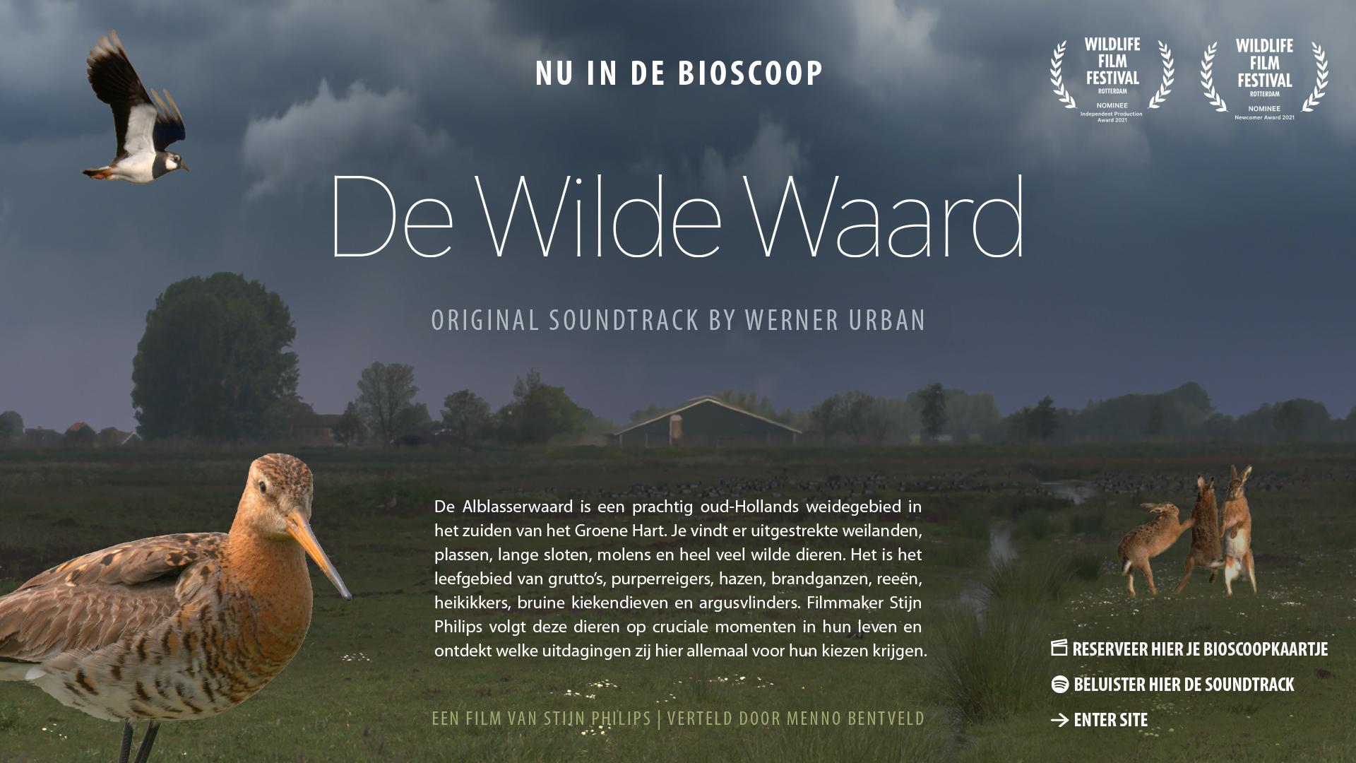 De Wilde Waard, natuurfilm over de Alblasserwaard